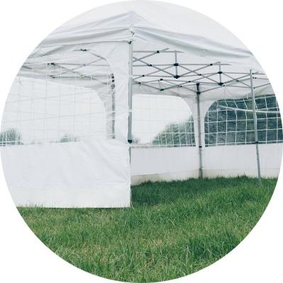 bubbelpakket extra tent