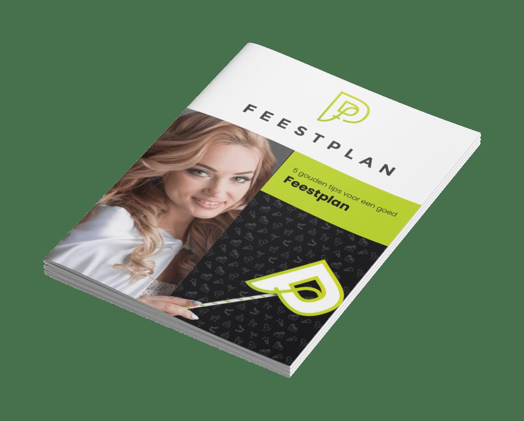 E-book 5 tips voor een goed feestplan