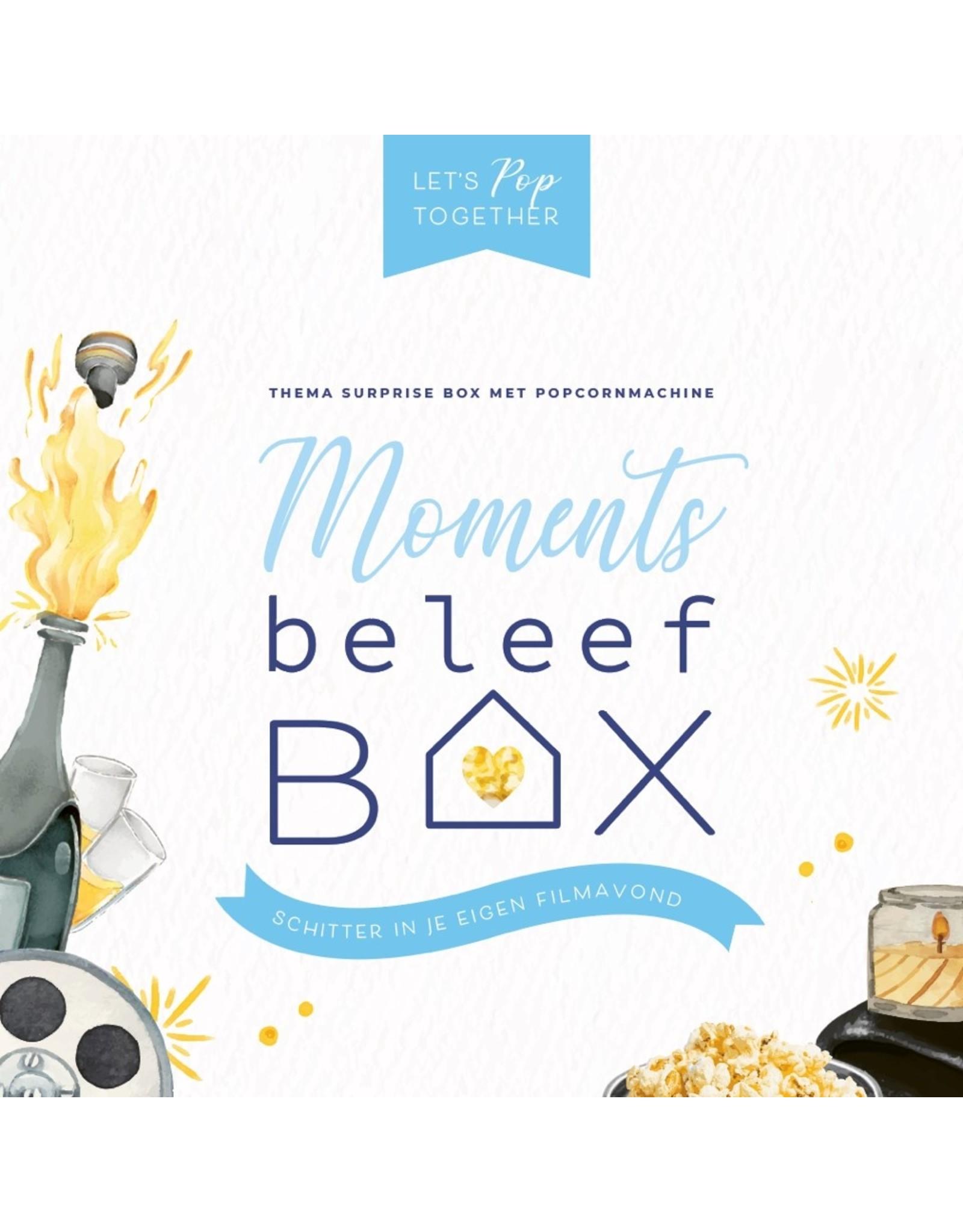 Beleefbox Let's pop together couple