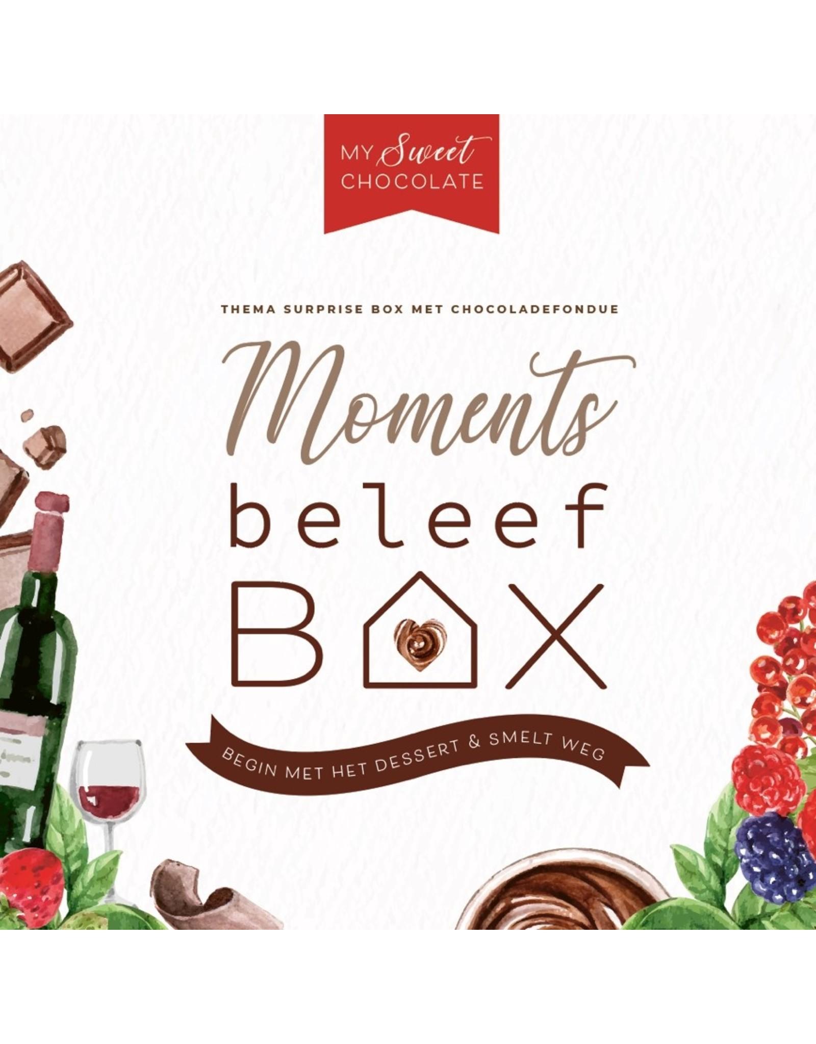 Beleefbox My sweet chocolate couple