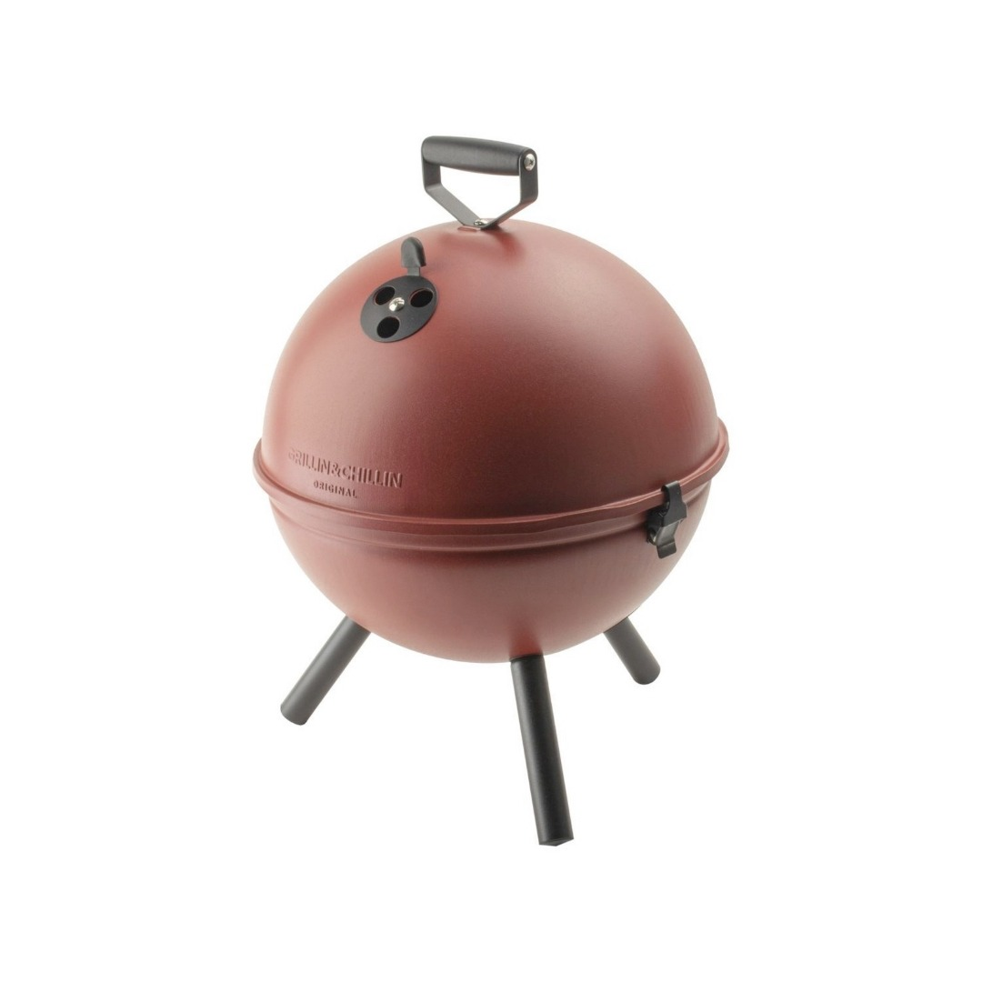 Tafelbarbecue Bullet rood