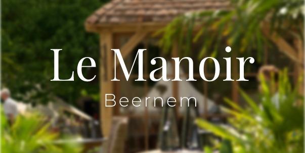 Feestplan aanwezig op Le Manoir in Beernem